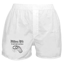 Military Wife - It's not a Jo Boxer Shorts