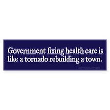 Government Fix Health Care Bumper Bumper Sticker