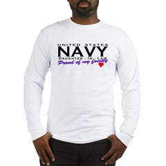 US Navy Daughter-In-Law Long Sleeve T-Shirt