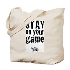 Stay on Your Game Reusable Tote w/Logo