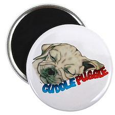 Fawn Cuddle Puggle Magnet