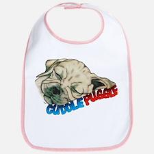 Fawn Cuddle Puggle Bib