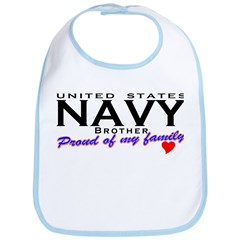 US Navy Brother Bib