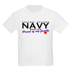 US Navy Brother Kids T-Shirt
