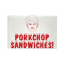Porkchop Sandwiches! Joe PSA Rectangle Magnet
