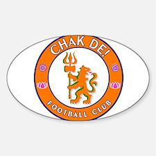 Chak De! Football Club Oval Decal