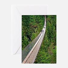 Capilano Suspension Bridge Greeting Card