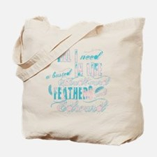 Headboard feathers & Edward Tote Bag