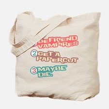 New Moon Papercut Tote Bag