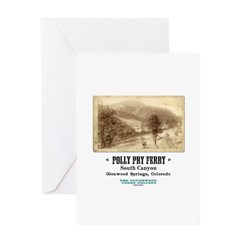 The Polly Pry Ferry Greeting Card
