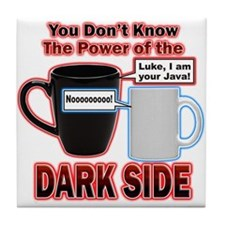 Dark Side Tile Coaster