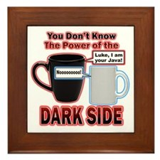 Dark Side Framed Tile