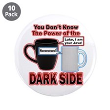 "Dark Side 3.5"" Button (10 pack)"