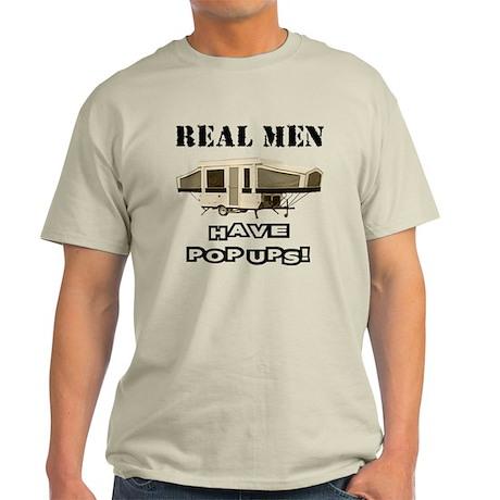 Real Men Pop Up Light T-Shirt