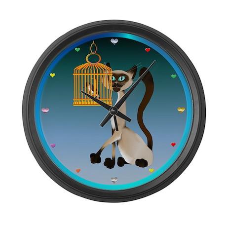 CATS Large Wall Clock