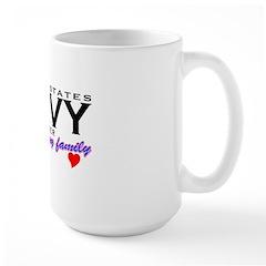 US Navy Sister Mug