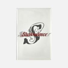 Shadowdance logo Rectangle Magnet