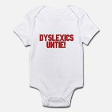 Dyslexics Unite Infant Creeper