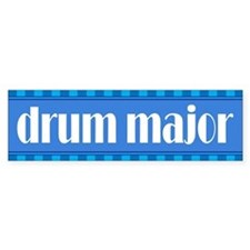 Band Drum Major Bumper Bumper Sticker