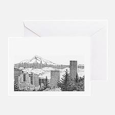 Portland/Mt. Hood Greeting Card