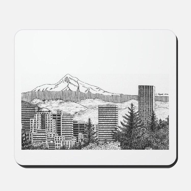 Portland/Mt. Hood Mousepad