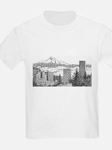 Portland/Mt. Hood T-Shirt