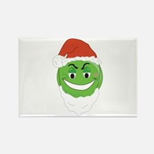 GRINCH SMILEY! Rectangle Magnet