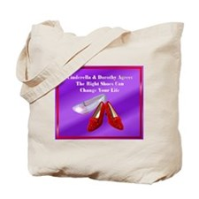 Right Shoes Tote Bag