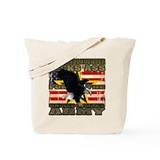 Army Granddaughter Tote Bag
