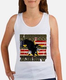 Army Granddaughter Women's Tank Top