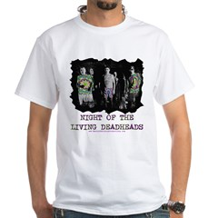 Night Of The Living Deadheads White T-Shirt