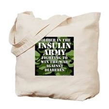 Insulin Army- Jungle Tote Bag