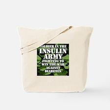 Insulin Army- Jungle Tote Bag