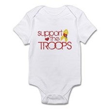 Support the TROOPS Infant Bodysuit