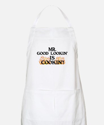 Mr. Good Lookin' BBQ Apron