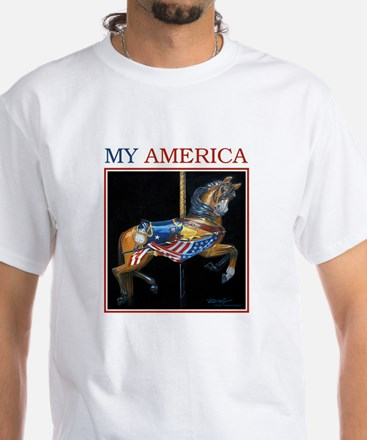 My America White T-Shirt