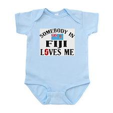 Somebody In Fiji Infant Creeper