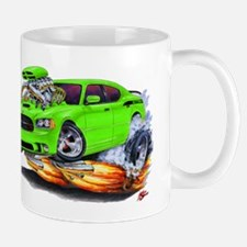 Charger Daytona Green Car Mug