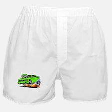 Charger Daytona Green Car Boxer Shorts