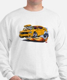 Charger Daytona Orange Car Sweatshirt