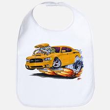 Charger Daytona Orange Car Bib