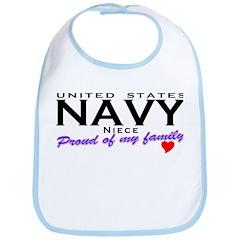 US Navy Niece Bib
