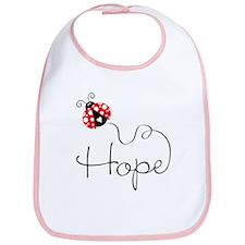 Ladybug Hope Bib