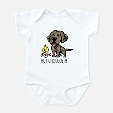 Hot Chocolate Infant Creeper