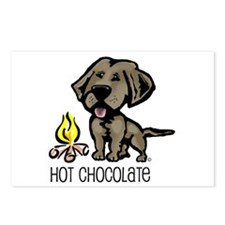Hot Chocolate Postcards (Package of 8)