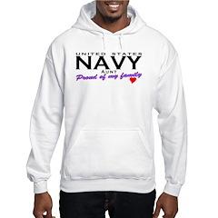 US Navy Aunt Hooded Sweatshirt