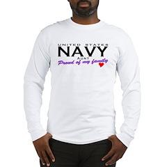 US Navy Aunt Long Sleeve T-Shirt