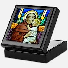 St Anthony window Keepsake Box