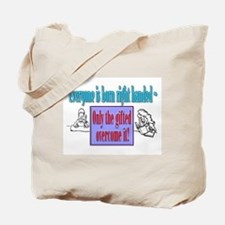Left-handed Tote Bag