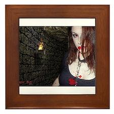 Dungeon Girl Framed Tile